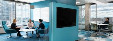 Modern Office Space Suits the Worker First