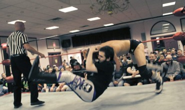 Pro Wrestler Cory Machado fights to end hunger